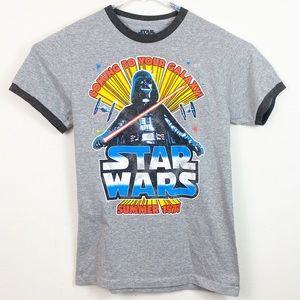 Star Wars Coming To your Galaxy Tee Shirt Size S